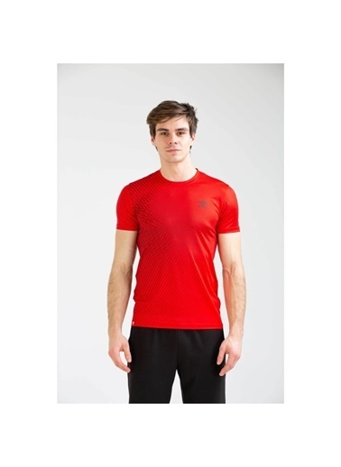 Umbro Reud Basic Tf-0040 M.Tshırt Saks  Erkek Tişört Kırmızı
